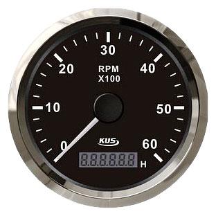 Купить KUS BS Тахометр/счетчик моточасов для лодочного мотора 0-6000RPM.